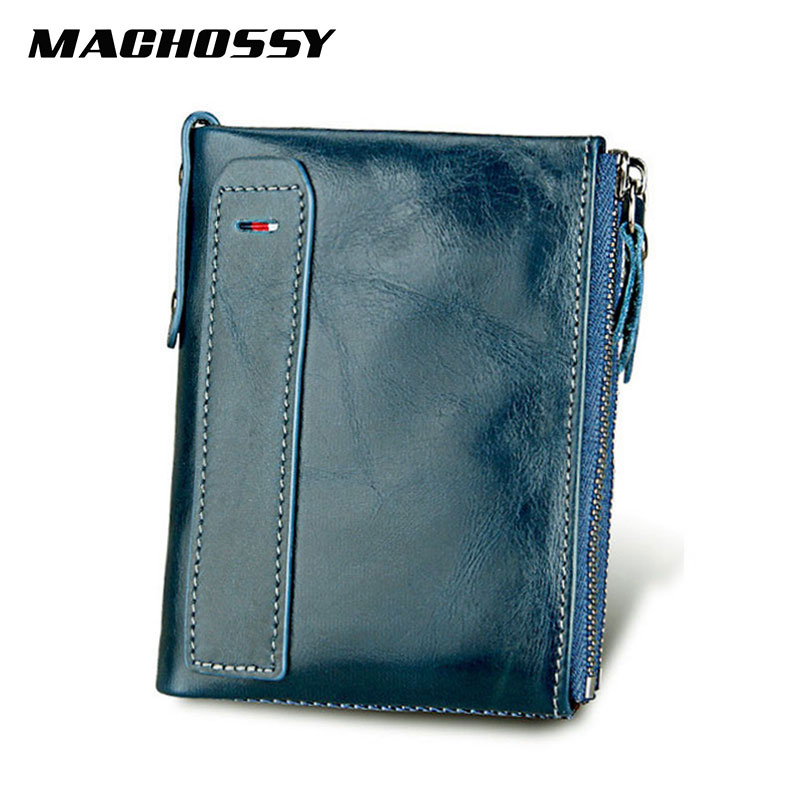 Hot!!! Genuine Leather Women Wallet Purses Coin Purse Female Small Portomonee Bifold Rfid Wallet Lady Purse For Men Money Bag