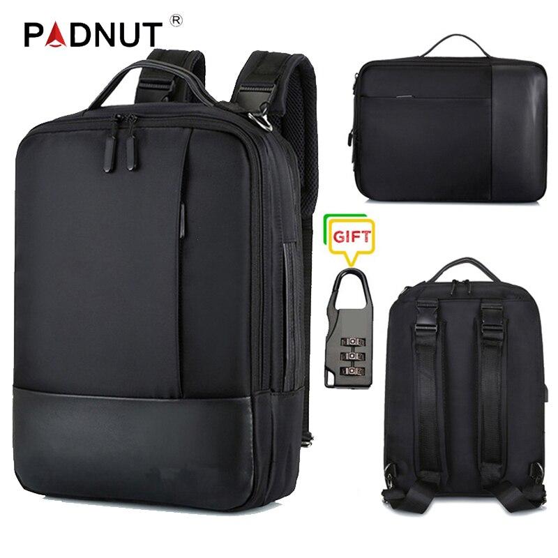 Business Backpack Multifunctional Men Laptop Backpacks 15.6 Waterproof Male Bags USB Charging Back Pack Notebook Travel Bagpack
