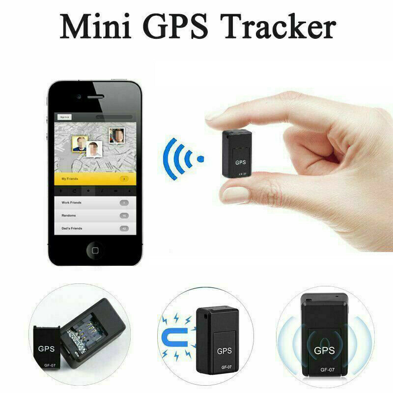 GF07 Mini GPS Real Time Tracker Magnetic Smart Car Kids Pet Dog Cat Locator GSM/GPRS Anti-Lost Theft Voice Recording Device