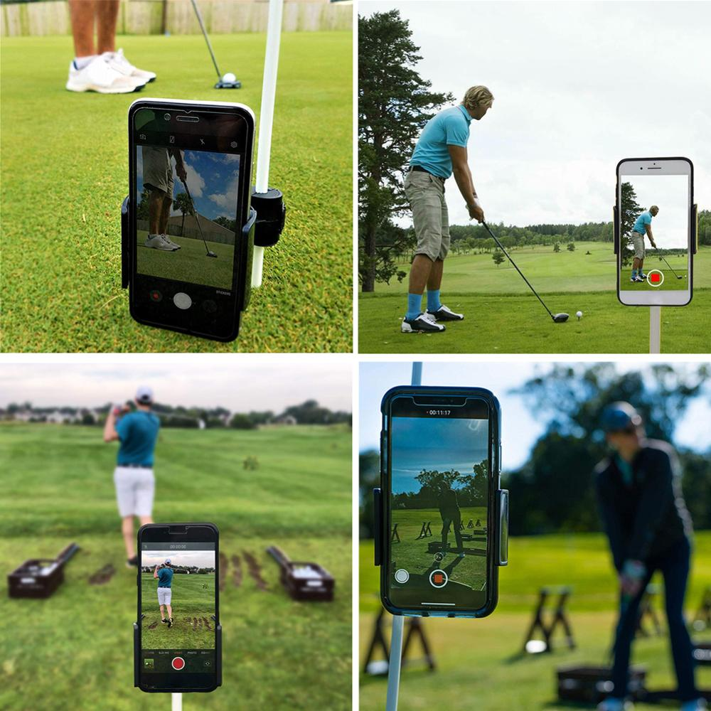 Golf Swing Recorder Holder Cell