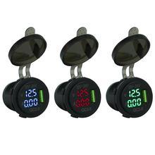 Прочный USB Автомобильное зарядное устройство тонкий дизайн 3A QC 3,0 USB Автомобильное зарядное устройство розетка адаптер для авто мотоцикл Лодка 12 V-24 V
