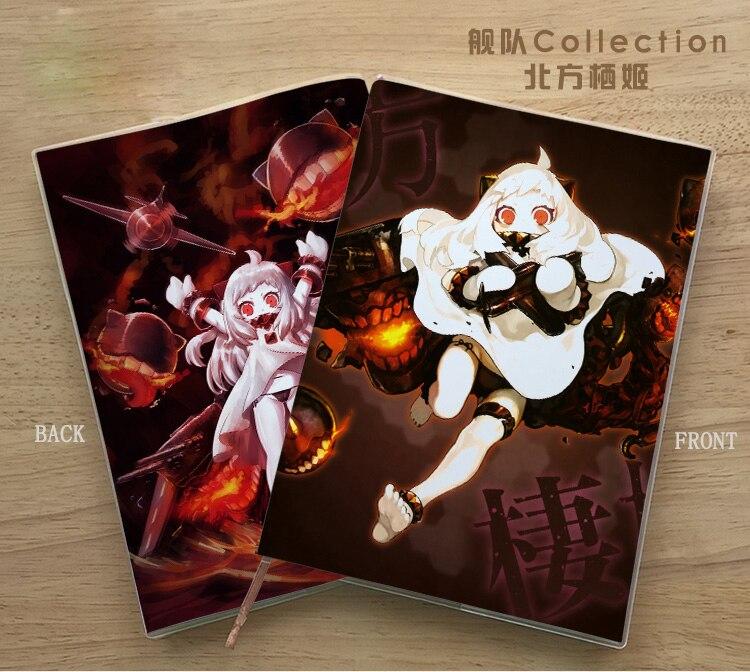 Anime Kantai Collection Hoppou Seiki Cosplay Student Notebook Eye Protection Diary Notepad Memorandum Commemorate Gift