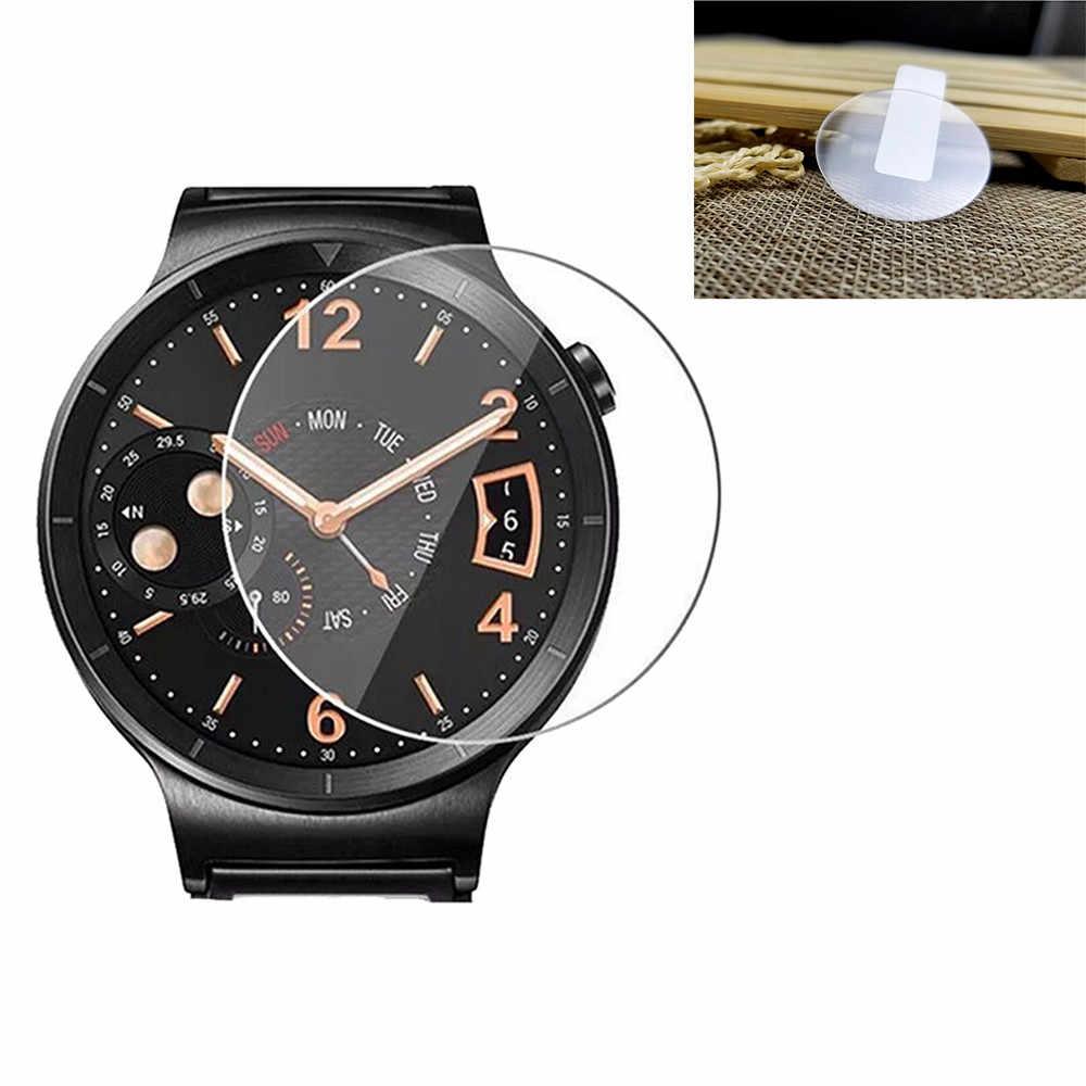 1-PACK Gehard Glas Screen Protector Voor Samsung Galaxy Horloge 42mm 9H film Eenvoudig te installeren voor smart watch Anti-Shatter 2019