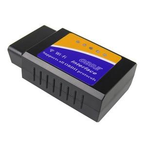 Image 3 - V1.5 ELM327 WIFI OBD2 سيارة التشخيص ماسحة ل iOS/الروبوت ELM 327 واي فاي V 1.5 ELM 327 OBD 2 أداة تشخيص سوبر PIC18F25K80