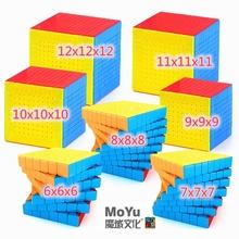 MoYu Magic cube puzzle toys Magiczna kostka MoYu 6 #215 6 7 #215 7 8 #215 8 9 #215 9 10 #215 10 11 #215 11 12x12x12 Puzzle zabawki Profesjonalna kostka Rubika puzzle zabawki prędkość kostka zabawna gra kostka Magia kostka rubika tanie tanio CN (pochodzenie) Z tworzywa sztucznego MoYu 6x6 7x7 8x8 10x10 11x11 12x12 Professional puzzle cube toys MoYu Magia cube Professional puzzle cube