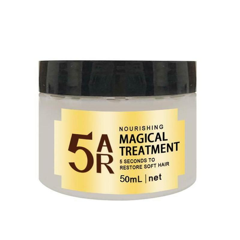 5 Seconds Damage Hair Repair Cream Magical Hair Treatment Mask Restore Soft Hair Conditioner Keratin Scalp Treatment Cream 60ml