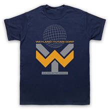 Alien Weyland Yutani Corp Aliens Sci Fi Unofficial Heren Dames Kids Size T-Shirt(China)