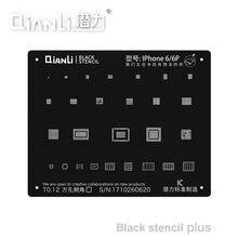 Qianli черный плюс BGA трафарет для телефона 11Pro Max 11Pro X XS XR XSMAX 8P 8 7P 6P NAND IC трафарет с квадратным отверстием