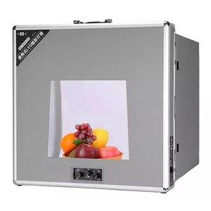 Image 5 - NG T3220 110 فولت/240 فولت للطي مصباح LED للاستديو هات علبة الصور الفيديو الإضاءة خيمة صندوق المهنية المحمولة LED سوفت بوكس التصوير مجموعة صناديق