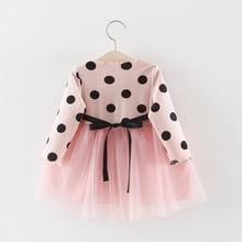 Dresses Polka Dot Daisy Fashion Baby Girls Clothing