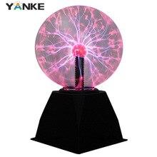 Magic Crystal Plasma Ball Touch Lamp Novelty 220V LED Night Light Child Nightlight Christmas Kids Decor Birthday  Gift Lighting