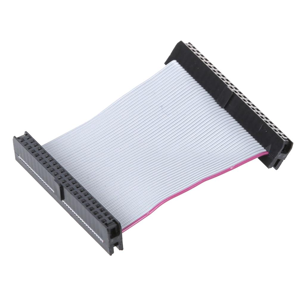 2-inch 44-pin Female 2.5-inch IDE Hard Drive CableFemale F/F Extension Data Ribbon Cable Line Dual Device