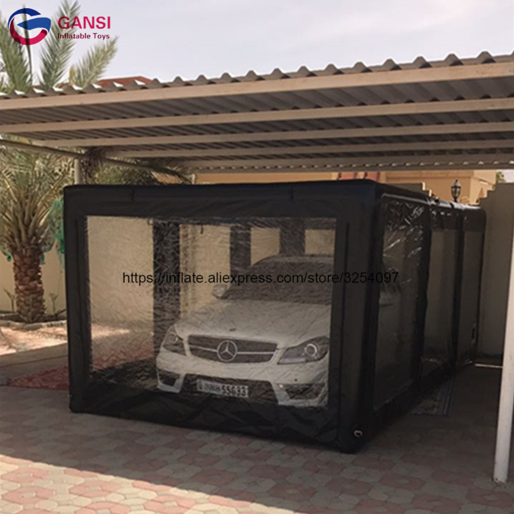Free Shipping Inflatable Car Cover Shelter Tent,cheap Inflatable Garage Tent With Free Pump