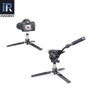 Image 3 - RT75CL المهنية 10 طبقات من ألياف الكربون ترايبود Monopod للكاميرا DSLR مع مزدوجة بانورامية منخفضة الشخصي الكرة رئيس السائل الرأس