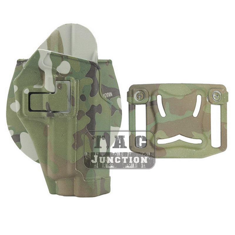 CQC Serpa Left Hand Pistol Holster w// MOLLE /& Mag Pouch for Sig Sauer P226 P229