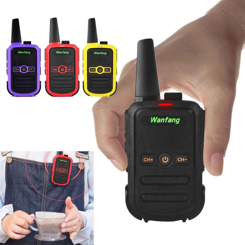 Walkie-talkie Professional Mini Color Ultra-thin Ultra-small USB Direct Charging