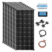 Солнечная панель 1000 Вт 12 В полный комплект система для кемпинга