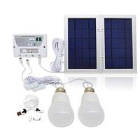 5000mAh Solar Light System Kit Portable Hanging Lantern USB/Phone Charging LED Bulb Camping Tent Fishing Emergency Light Outdoor