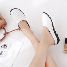 купить Woman Casual Sandals Shoes Summer Genuine Leather Slippers Outdoor Wedge Flip Flops Ballet Flat Non-Slip Female Shoes Size 34-43 дешево