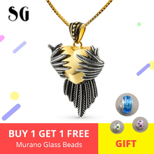 925 Sterling Silver Colar Love Heart Pendant Necklace For Women Trendy Jewelry Angle Pendant & Necklace Choker Chain Women  Gift strollgirl infinite love angle heart 925 sterling silver chain pendant necklace fashion jewelry necklaces