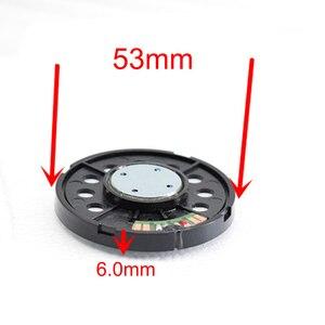 Image 2 - 53 мм 32 Ом Hi Fi драйвер для наушников с металлическим покрытием, 3 полосные сбалансированные прозрачные колонки 120 дБ