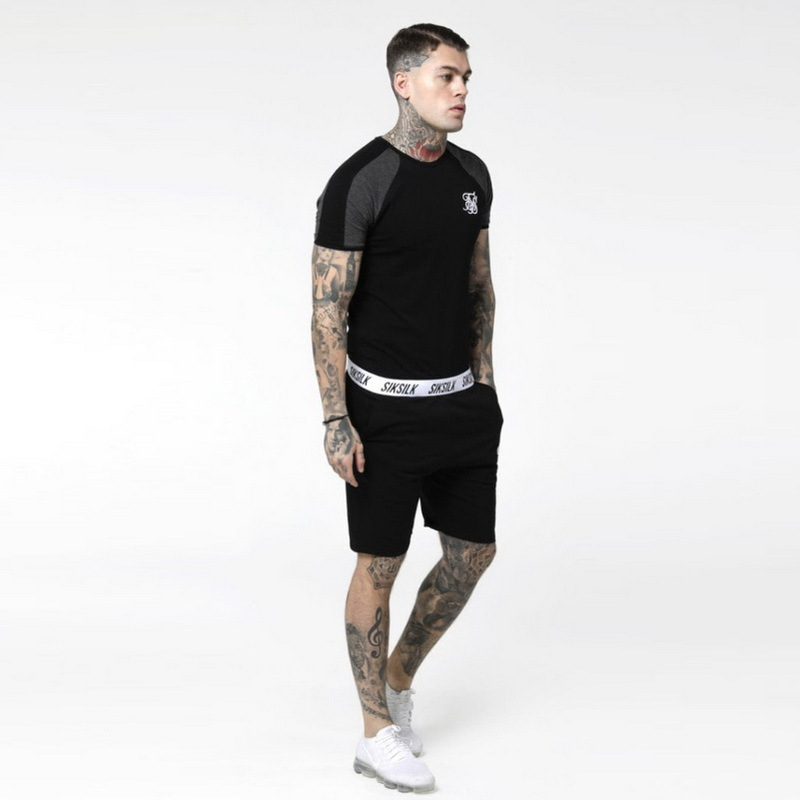 New High Quality Summer Men Shorts Casual Streetwear Elastic Waist Pocket Loose Gym Clothing Sweatpants Breathable Cotton Shorts