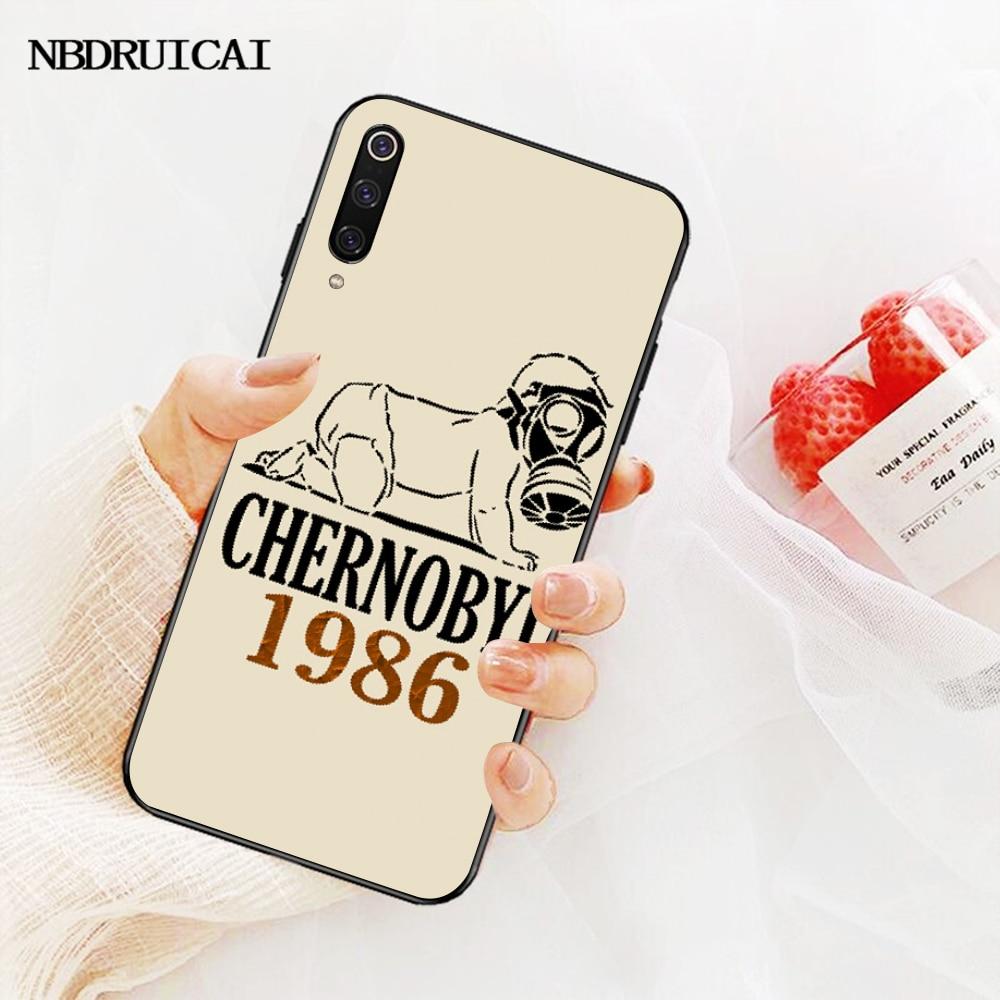 NBDRUICAI 'רנוביל אסון 1986 חדש הגיע שחור טלפון סלולרי מקרה עבור Redmi הערה 8 8A 7 6 6A 5 5A 4 4X 4A ללכת פרו בתוספת ראש