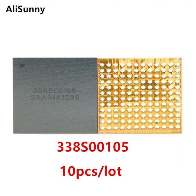 AliSunny 10 個新 338S00105 メインオーディオ ic iPhone 7 7 グラム 6S プラス U3101 & U3500 ビッグ大型オーディオチップ CS42L71 部品