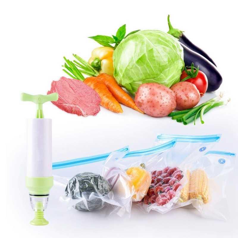 Yeni sous-vide çanta Essentials kiti Anova tencere için, yeniden kullanılabilir gıda depolama dondurucu ve su pişirme çantaları, 10 vakum mühürlü Ba