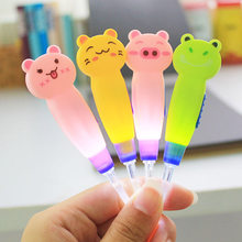 1pc Baby Flashlight Ear Pick Cute Animal Plastic Ear Wax Remover Tweezer Cleaner Light-up Ear Syringe Tool For Kids Children(China)