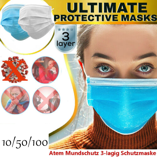 Cotton PM2.5 Mouth Mask Anti Dust Mask Anti-droplets Transmission Activated Carbon Flter Mouth-muffle Bacteria Proof Flu Masks 3