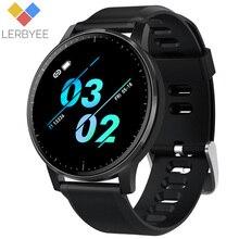 Lerbyee bande intelligente Q20 Bluetooth moniteur de fréquence cardiaque contrôle de la musique Bracelet intelligent couleur écran rappel dappel Tracker de Fitness nouveau