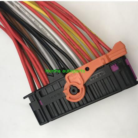 1 pcs Security Guard against theft defensive alarm Anti 28 pin male female connector 1K0937722D 1K0 91K0937702C wire harness image