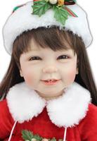 NPK Christmas Doll Holiday Gift Top Grade Marriage Presses Doll Play House Dress up Adora