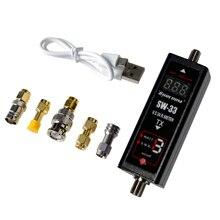 Цифровой мини счетчик SURECOM SW 33 markII 125 520 МГц, VHF/UHF, измеритель мощности и SWR, тестер для портативной рации, двухсторонней радиосвязи