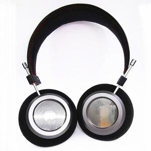 Image 3 - 40MM כבד בס פתוח חזרה אוזניות 32 אוהם HiFi מעל אוזן אוזניות מלא טווח מתכת דיור אוזניות