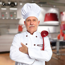 Vkamoli кулинарная Регулируемая шапка шеф-повара для мужчин, эластичная шапка для кухни, кепка для приготовления пищи, полосатые простые шапки, Рабочая кепка, шапка для повара