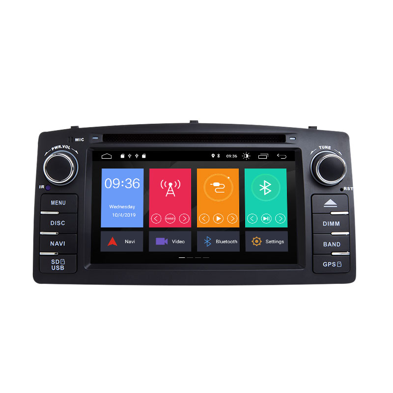 Xonrich Android 9.0 Car DVD Player For Toyota Corolla E120 BYD F3 <font><b>2</b></font> <font><b>Din</b></font> Car Multimedia Stereo <font><b>GPS</b></font> <font><b>AutoRadio</b></font> Navigation Wifi OBD2 image