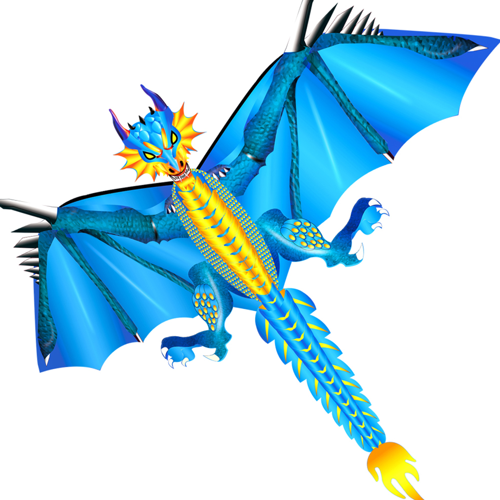 Classical Dragon Adult Family Park Beach For Children Toy Sports Flying Kite Fun With Tail Outdoor Garden Cloth