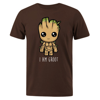T-Shirt hommes I Am Groot coton