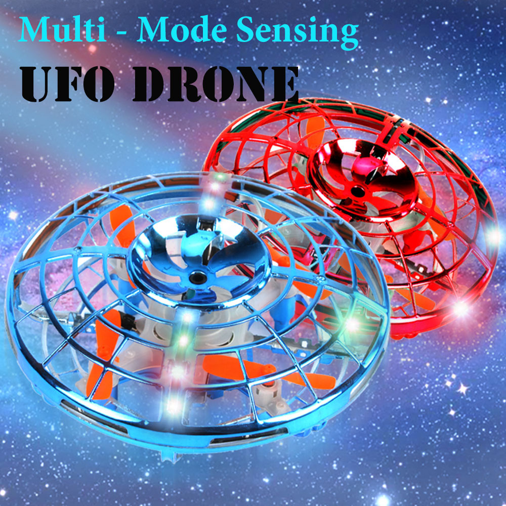 Upgraded Hand Mini Gesture Control Drone Rechargeable Battery Sensing Induction Aircraft Flight Toys Gift For Boys And Girls