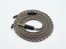 ISN Audio AG8 insignia, 8 hebras, alta pureza, plata, auricular HiFi audiófilo IEM, Cable de auriculares