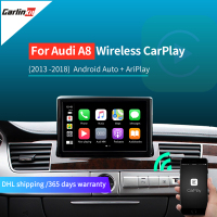 Carlinkit Drahtlose Apple CarPlay für Audi A8 S8 MMI 3G/3G + muItimedia interface CarPlay & Android auto Nachrüstsatz