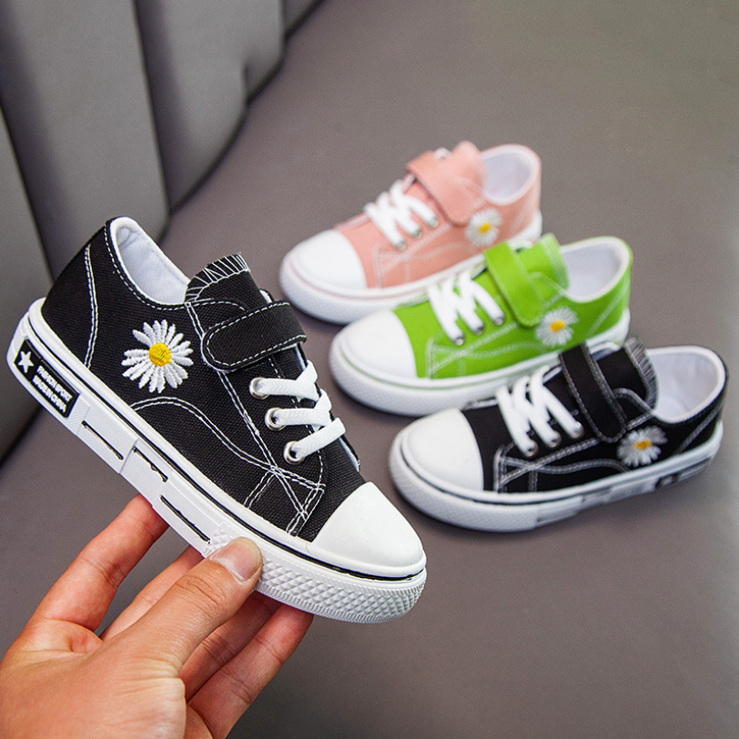 1 2 3 4 5 6 Years Old Kids Canvas Shoes For Boy Teens Girls Casual Sneakers Student Toddler Baby Shoes Easy To Wear