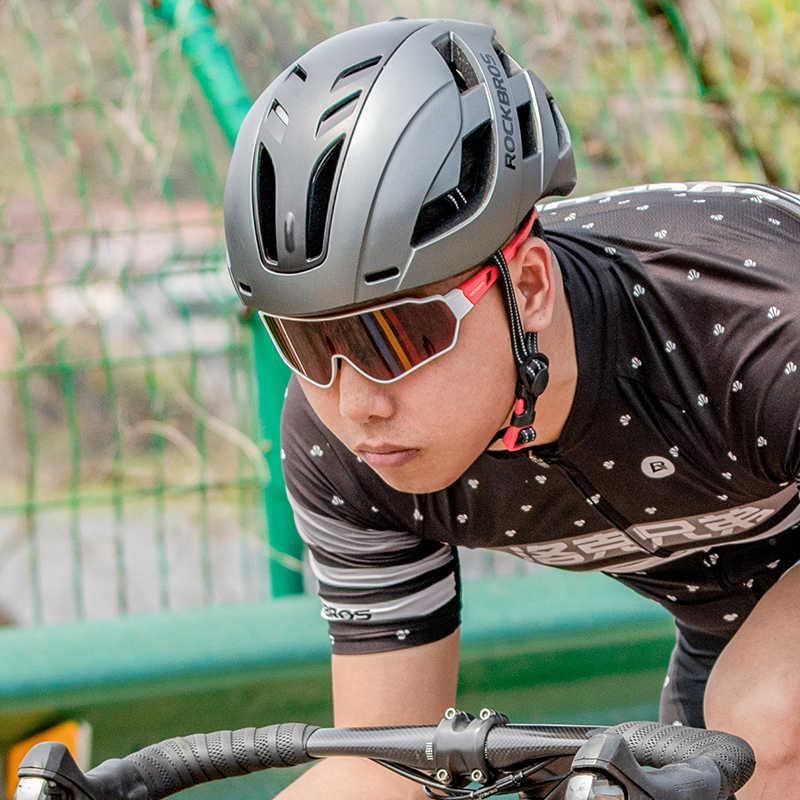 Rockbros ciclismo óculos photochromic bicicleta esportes ao ar livre mtb polarizado óculos de sol unisex miopia quadro