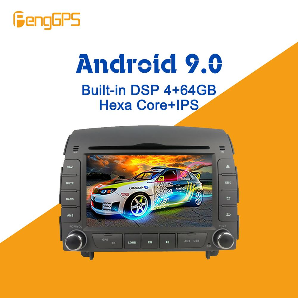 Android 9.0 PX6 DSP For Hyundai Sonata NF 2005-2008 Car Multimedia Stereo Player No DVD Radio GPS Navigation Head Unit Screen 4G