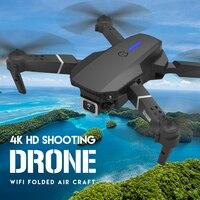 LSRC-Dron cuadricóptero E525 HD 4K 2021 P, cámara y WiFi FPV, cuadricóptero plegable RC, juguete para regalo, 1080