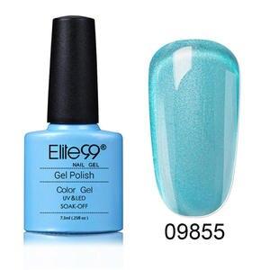 Elite99 7,3 мл УФ-гель для ногтей отмачиваемый лак полуперманентное верхнее покрытие для дизайна ногтей для маникюра Гель-лак