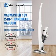 Vacmaster aspirador inalámbrico para el hogar, de 18V batería de litio, de mano/Vertical, aspirador inalámbrico 2 en 1