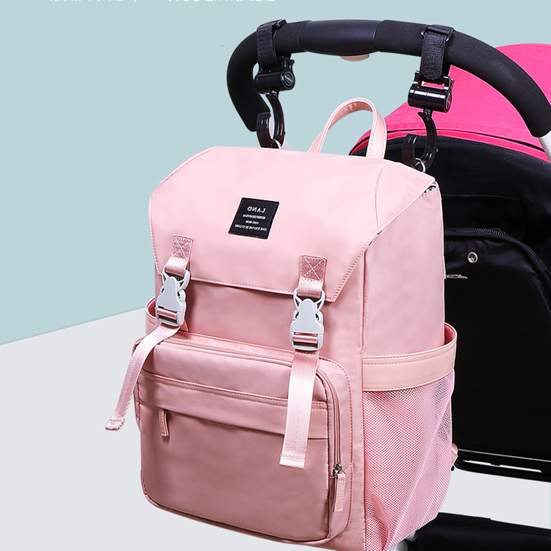Mummy Bag Backpack Travel Bags Baby Diaper Bag Waterproof For Stroller Simple Outdoor Baby Care BFY033